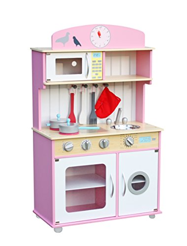 role play kitchen accessories deluxe wooden kitchen pretend children play 4855